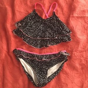 polka dot (child's) bikini